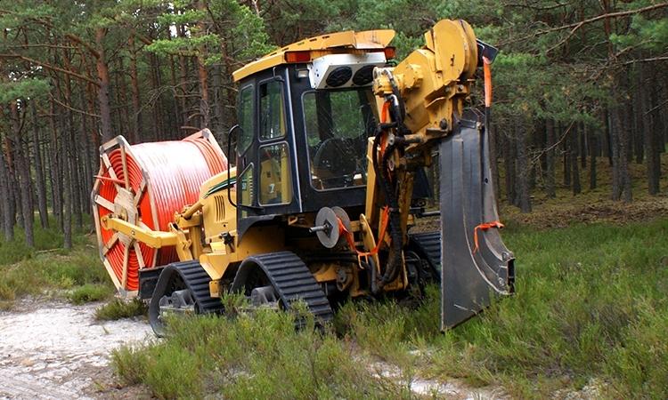 Pługoukładacz Vermeer RTX1250